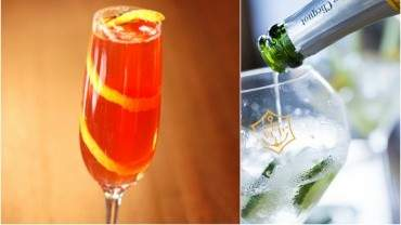 Image for Seelbach Champagne cocktail
