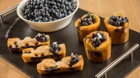 Image for Boulevard's B.C. blueberry pound cake