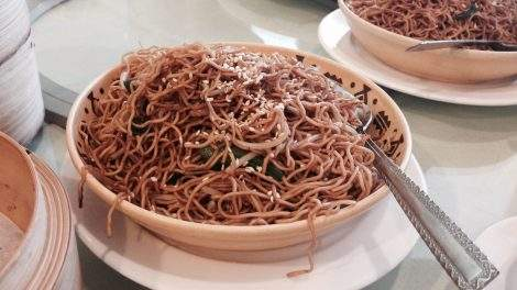Long noodles Chinese New year