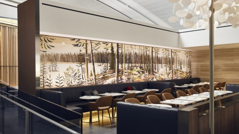 Image for Daily bite: Air Canada debuts restaurant-style lounge in Toronto Pearson