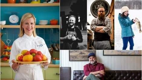 Anna Olson, Derek Dammann, Murray MacDonald, David McMillan and Sarah Musgrave tell Eat North why they love Canadian food