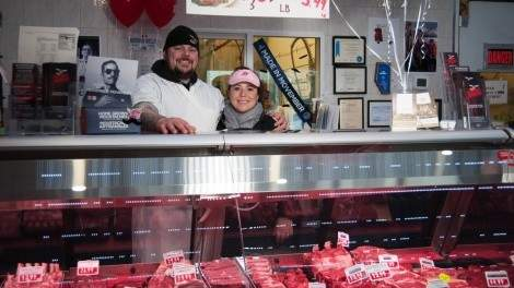 Darcy and Alicia from Real Deal Meats.