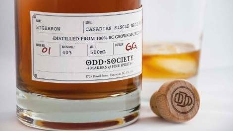 Odd Society single malt whisky