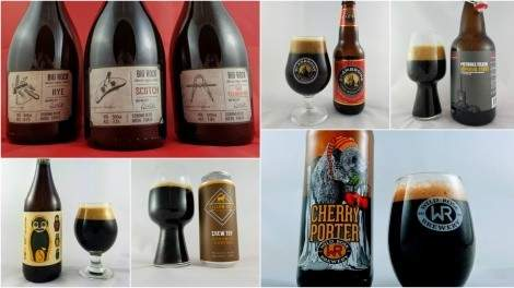 Image for The deep, dark beers of winter