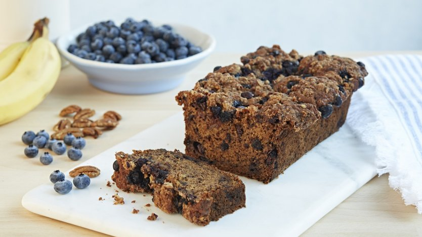 Image for Banana bread with B.C. blueberries