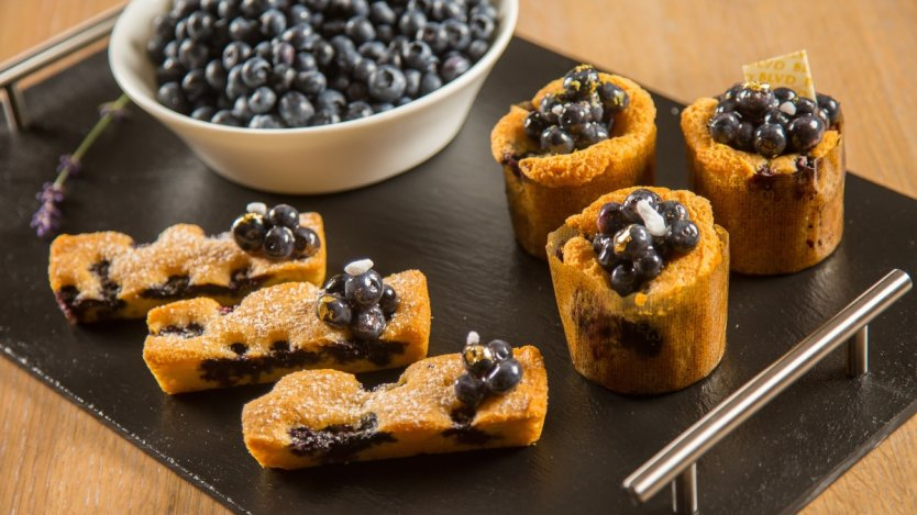 Image for Boulevard's B.C. blueberry pound cake