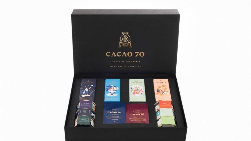 Cacao 70 hot cocoa mix