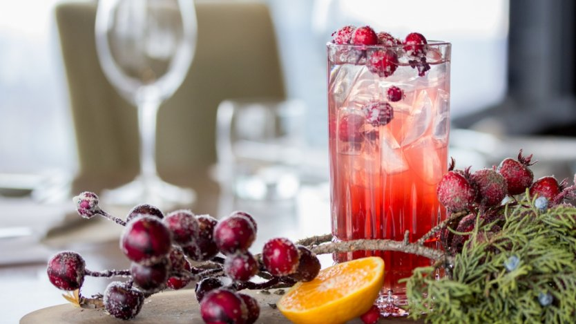 Image for Canoe's Holiday Storm cocktail