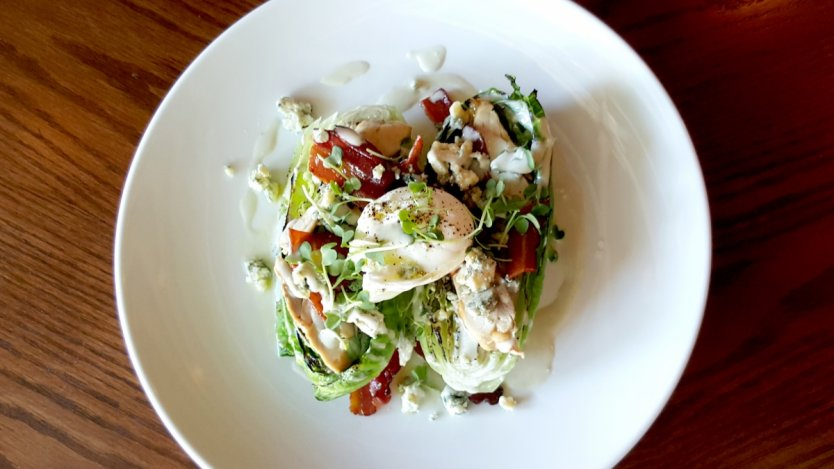Image for Cascade Room's grilled romaine Cobb salad