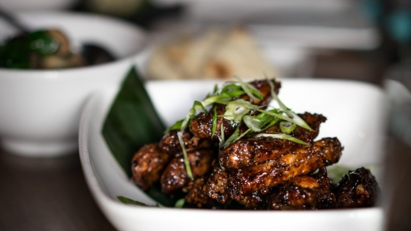 The Union's Bali Bang Bang wings. Photo by @NomNomYVR