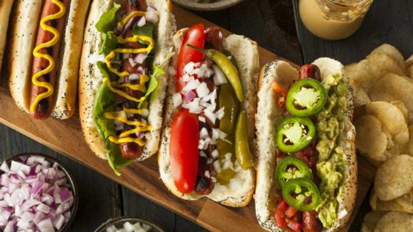 Beretta Farms hot dogs