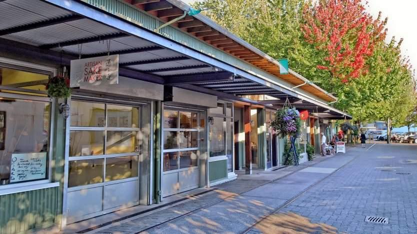 Artisan Sake Maker in Granville Island, Vancouver, B.C.
