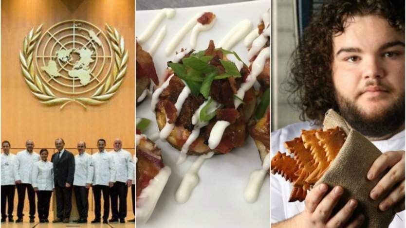Image for ICYMI: Le Club des Chefs des Chefs meets in Canada this year, John Bil from Game of Thrones opens his own bakery, and the first Canadian gluten free eatery in this week's food news