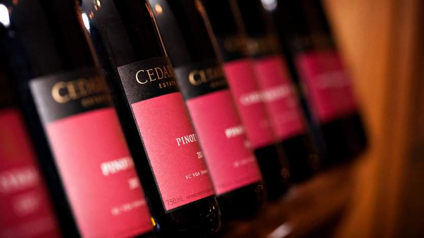 Photo courtesy of CedarCreek Estate Winery.