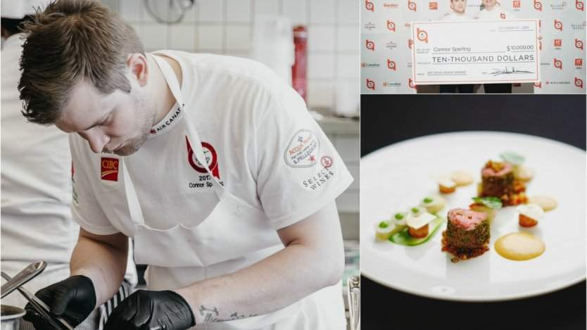 Image for Daily bite: Vancouver chef Connor Sperling wins Hawksworth Young Chef Competition 2017