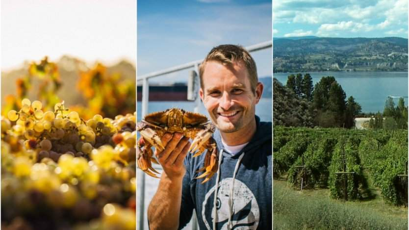 Image for West Coast wines meet Western Canadian cuisine at Chef Meets BC Grape