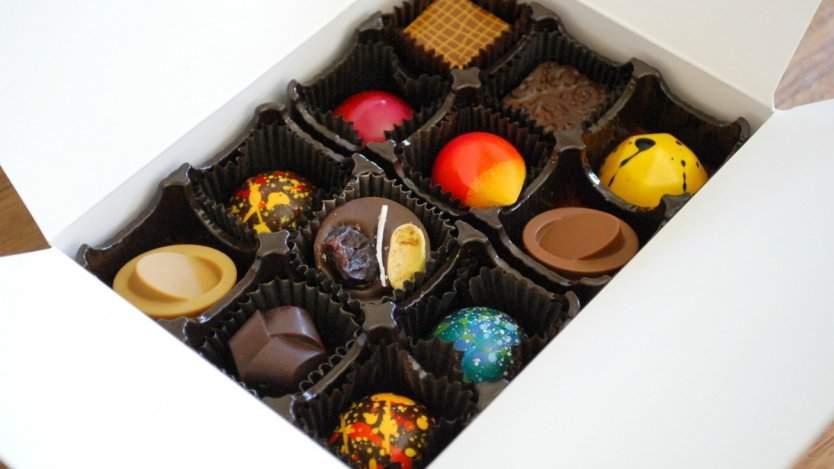 Anne Sellmer 's handcrafted chocolates at cōchu chocolatier