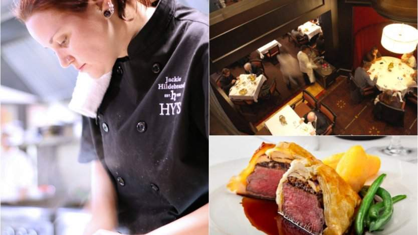Image for Daily bite: Winnipeg chef Jackie Hildebrand becomes first female executive chef in Hy's Steakhouse history