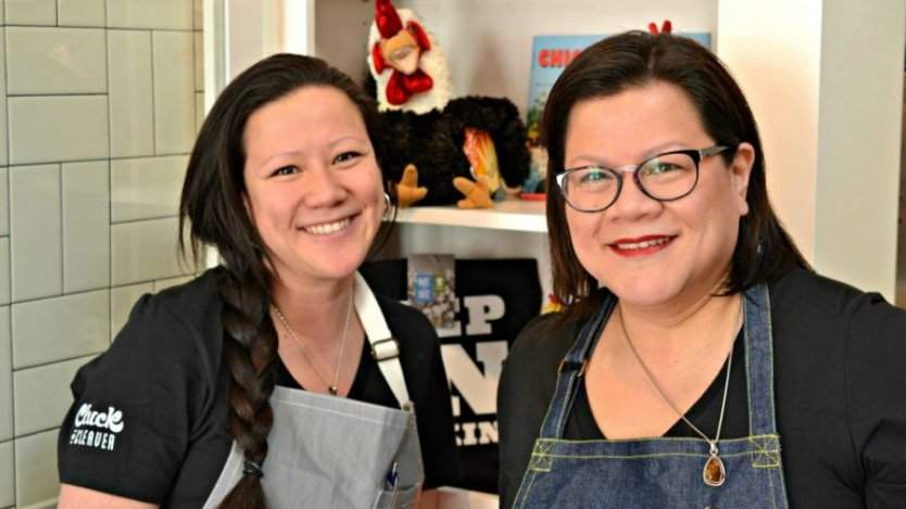 Image for Top Chef Canada: All-Stars' Nicole Gomes and sister Francine on a fried chicken run in the Southern States
