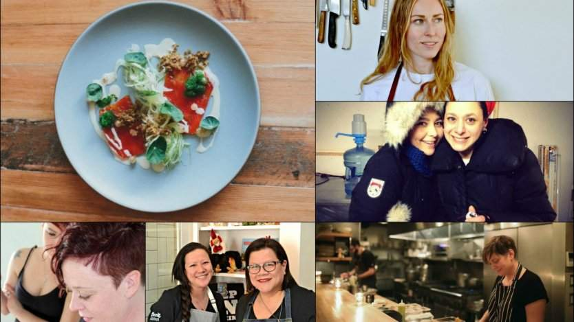 Canadian female chefs and restaurant owners
