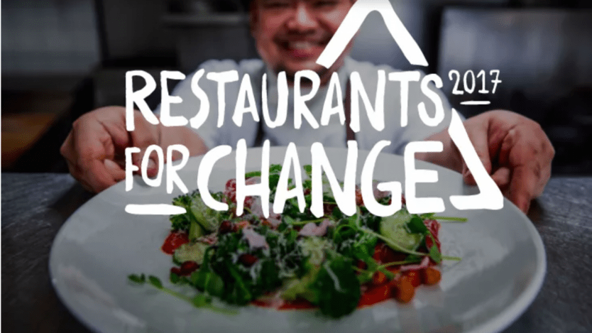 Image for Make dinner make a difference with Restaurants for Change