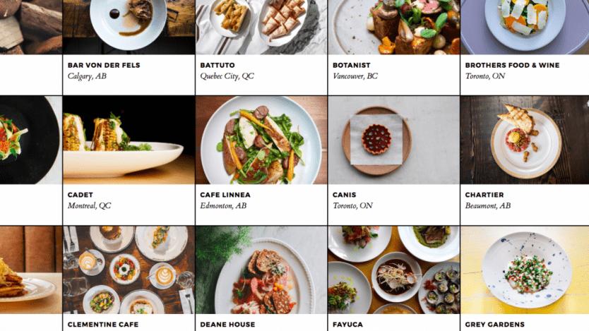 enRoute Canada's Best New Restaurants 2017