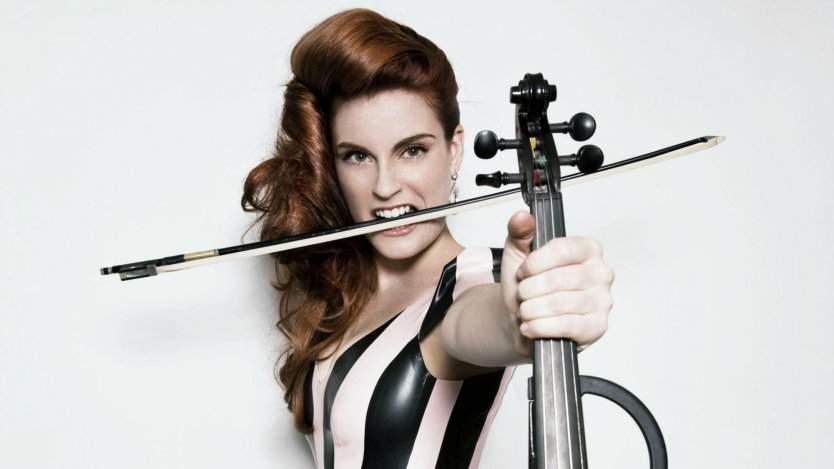 Violinist Sophie Serafino