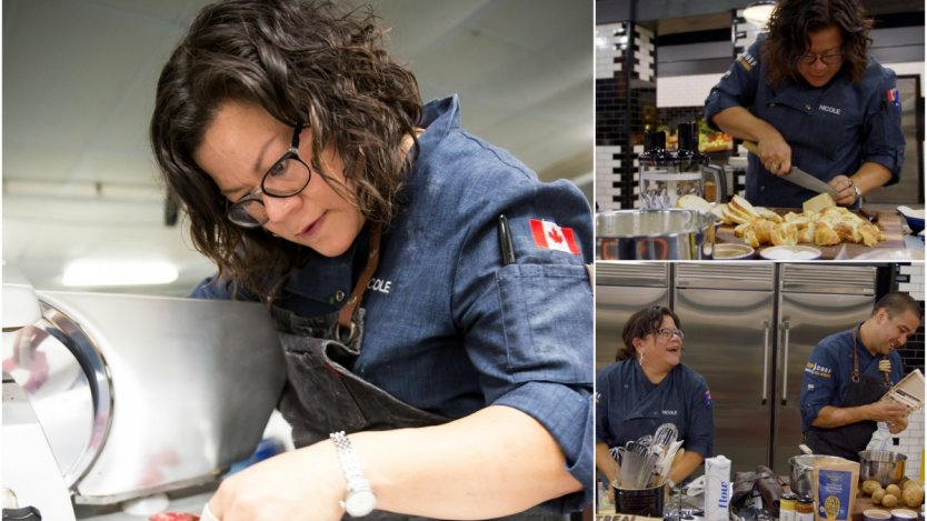 Top Chef Canada: All Stars Nicole Gomes