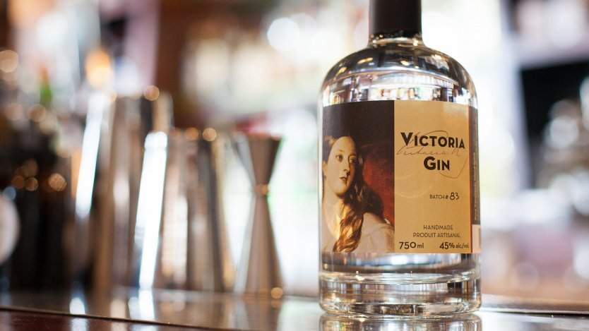 Victoria Gin is one of a few Canadian gins