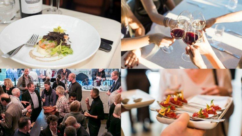 Chef Meets BC Grape event