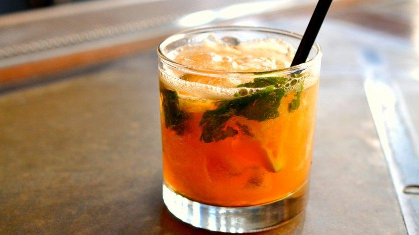 Image for Hayden Block's Whisky Smash cocktail