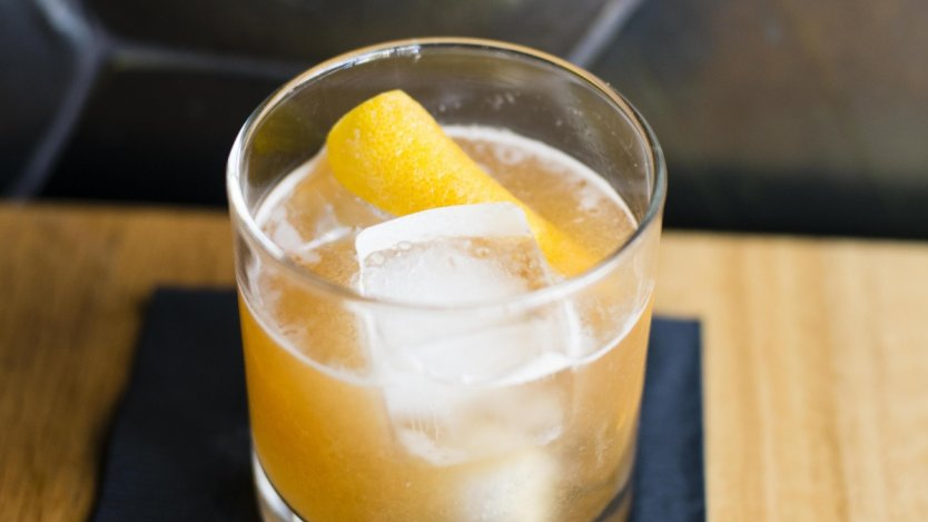 Image for Spice Orange Smash cocktail with Hennessy cognac