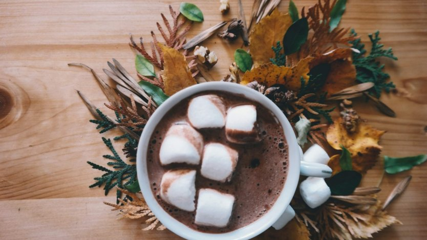Image for Allyson Reigh's spiced hot chocolate