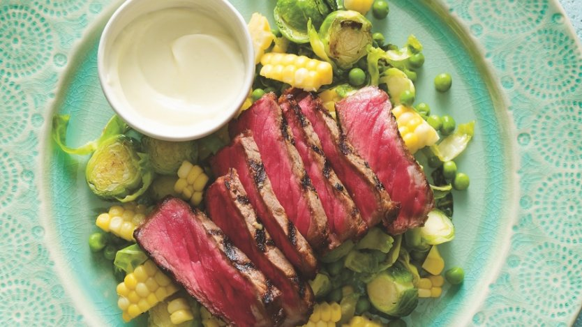 Image for Ricardo's wasabi-marinated steak