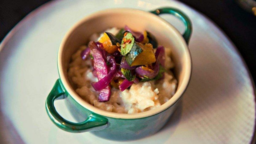 Simple risotto and winter squash recipe